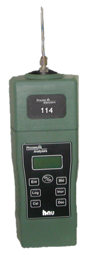 Model 114+ Portable LEL, CH4, CO, CO2 Analyzer
